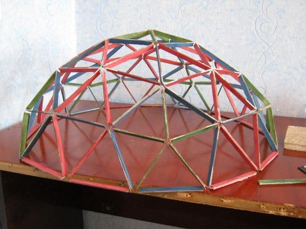 Итоговая модель геокупола