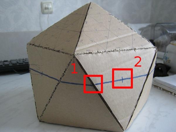 Модель икосаэдра