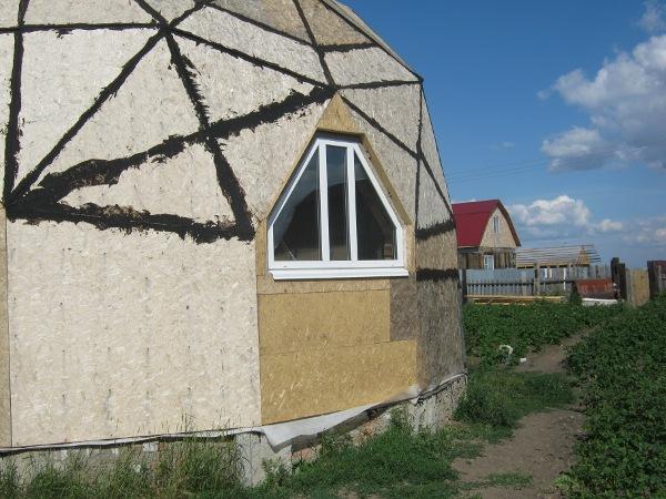 Доделанное кухонное окно