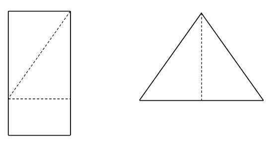 Резка плиты OSB (малый треугольник)